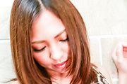Hikari - Hikari big tits babe enjoys Asian dildo up her cunt - Picture 11