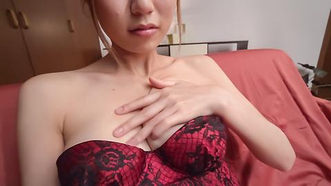 Kanako Kimura - Young Kanako Kimura tries Japanese bg dildo on cam - Picture 5