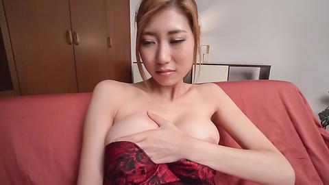 Kanako Kimura - Young Kanako Kimura tries Japanese bg dildo on cam - Picture 6