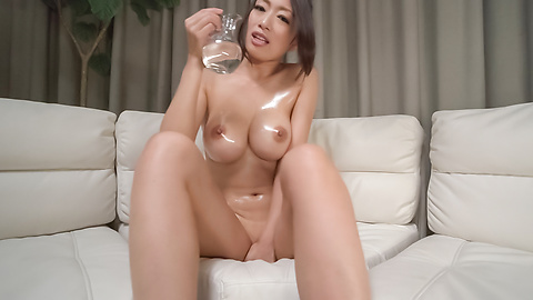 Reiko Kobayakawa - Busty woman amazes with a double Japanese blowjob  - Picture 1