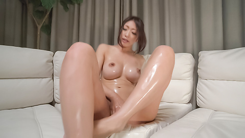 Reiko Kobayakawa - Busty woman amazes with a double Japanese blowjob  - Picture 8
