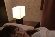 Amateur wife provides warm Japanese blow job Photo 4