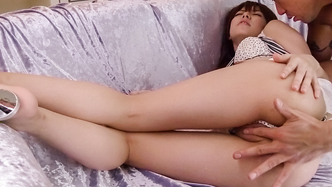 Miyu Aoi - Miyu Aoi's hot asian blow job leads to a creamed pussy - Picture 11