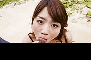 Astounding blowjob with big tits Mayuka Akimoto  Photo 7
