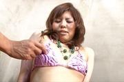 Perky titty Reina Sakai hard fingering and sex toy action Photo 1