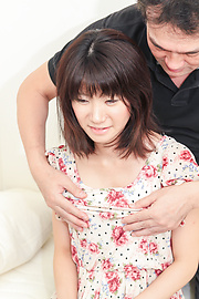 Rikako - Rikako gets cream filled thanks to a japanese blow job and pussy pounding - Picture 1