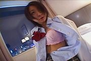 Schoolgirl Wakana loves hot Japanese POV sex on cam Photo 2