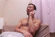 Wife gets hard inches to crack down her hairy Asian pussy Photo 3