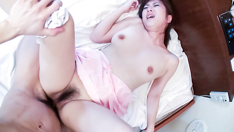 Innocent Yuki Minami Gets her Hairy Snatch Pounded by a Big Cock