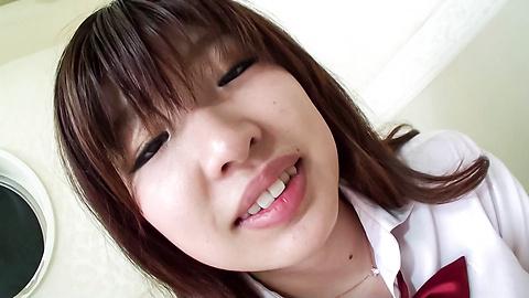 岡田あい - 貪欲制服女子校生生ハメ~岡田あい - Picture 5