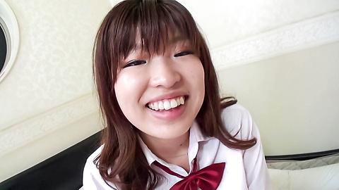 岡田あい - 貪欲制服女子校生生ハメ~岡田あい - Picture 6