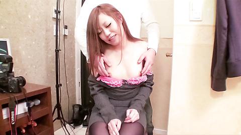 Nana Kawase - หวาน นานา คาวาเสะ rubs กิจกรรมทางเพศและดูดของวู้ดดี้ -  7 รูปภาพ