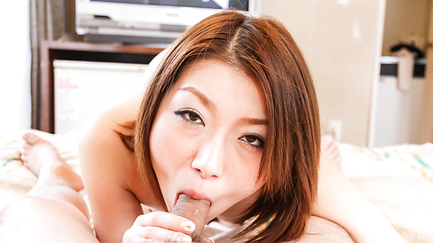 Kaoru - Kaoru milks him dry with a japanese blowjob - Picture 3