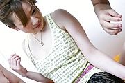 Sweet pretty gal Yukina Momose group sex Photo 1