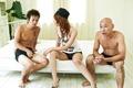 Moe Aizawa shakes big titties in fucking