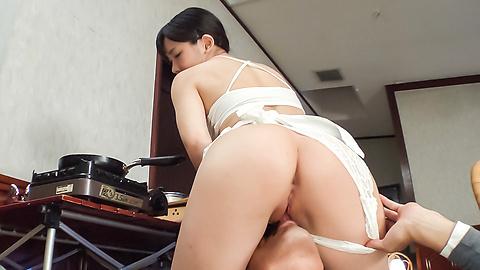 Yui Kasugano - Staggering Japanese dildo porn show withYui Kasugano - Picture 1