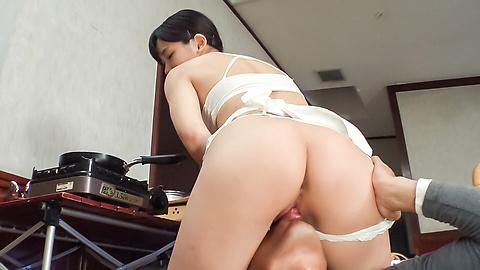Yui Kasugano - Staggering Japanese dildo porn show withYui Kasugano - Picture 2