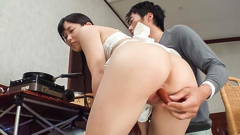 Yui Kasugano - Staggering Japanese dildo porn show withYui Kasugano - Picture 8