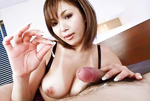 Mai Kuroki horny as a girl could ever wild cumshots action