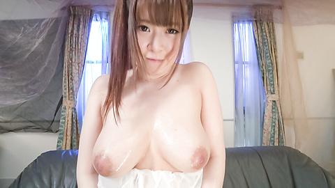 永瀬里美 - 生ハメ爆乳モデル昇天オナニー 永瀬里美 - Picture 8