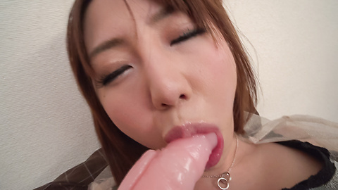 Narumi Ayase - Narumi Ayase jizzed after a rough porn with asian dildos  - Picture 10