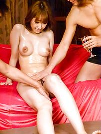Tiara Ayase - Ayara Tiara Ayasese亞洲口交和射精有她筋疲力盡 - 圖片1