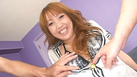 Yuki Mizuho - น่ารักและเงี่ยนเอเชีย Babe Redhead ยูกิมิซูโฮะได้รับหีของเธอลูบไล้ด้วยความรักกับของเล่นเพศต่าง ๆ -  1 รูปภาพ
