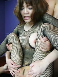 Yumemi Tachibana - Yumemi Tachibana memberikan blowjob Asia dan krim oleh dua - gambar 11
