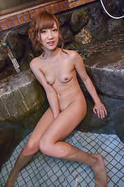 Anna Anjo - Hairy Anna Anjo plays with her pussy and tits - Picture 5