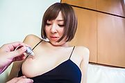 Hikaru Shiina - Hikaru Shiina Japan amateur sex show caught on cam - Picture 1