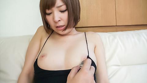 Hikaru Shiina - 钩住了凸轮的宇多田光椎名日本业余色情表演 - 图片 3