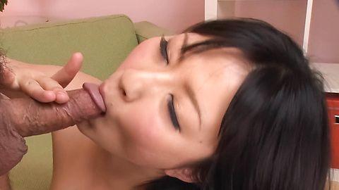 Megumi Haruka - Megumi Haruka licks two tools same time - Picture 12