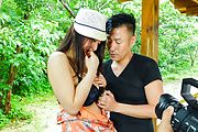 Smashing outdoor Japanese sex with Kaede Niiyama Photo 3