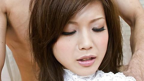 Mari Sasaki - 熱氣騰騰的三Mari Sasaki指性交的樂趣 - 圖片5