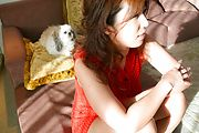 Big Titted Naho Hadsuki Tag Teamed And Creampied Photo 3