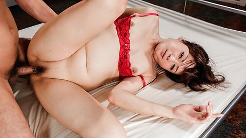 Mizuki Ogawa - Mizuki Ogawa's scorching hot threesome ends in an asian creampie - Picture 11