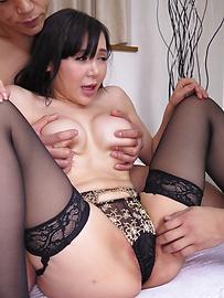 Miu Watanabe - Harsh Asian blow job along insolent Miu Watanabe - Picture 5