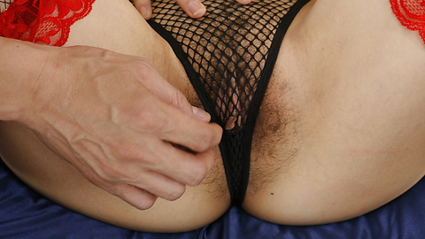 Keito Miyazawa - Keito Miyazawa in fishnets inspires a double creampie - Picture 6