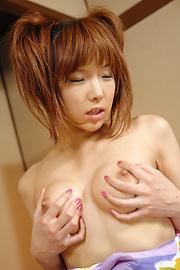 Serina Hayakawa - Serina ฮายาขี่ไก่ ในชุดกิโมโน -  5 รูปภาพ