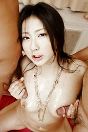 Megumi Haruka - Asian hottie Megumi Haruka in some nasty group fuck - Picture 3