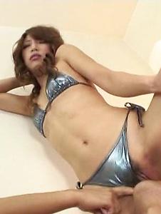 Aya Sakuraba - 在疯狂的69 动作和激烈的性交的某事绫 Sakuraba - Screenshot 3