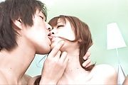 Rika Kurachi - 娇小的梨仓地获取双联手和 Creampied - 图片 4