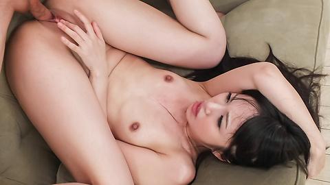 Kotomi Asakura - Sleazy Kotomi Asakura in full Japan blowjob porn scene - Picture 9