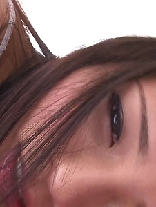 Ren Azumi - Ren Azumi has asian anal sex in a DP threesome - Screenshot 5