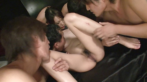 Rino Asuka - 在里诺飞鸟的铁杆乱搞获取暨粘她所有 - 图片 5