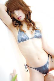 Aya Sakuraba - ร้อนและซน Aya บะได้รับ Gangbang ในมหากาพย์ -  5 รูปภาพ