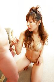Serina Hayakawa - ป้ายญี่ปุ่น Babe ฮายา Serina teamed โดยสองโชคดีปัญญาอ่อน -  12 รูปภาพ