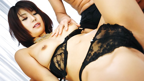 Azumi Harusaki - Double load in mouth for Azumi Harusaki after hard sex - Picture 3
