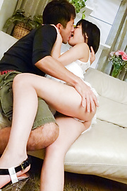 Kana Matsu - Asian blowjob to continue with hardcore for Kana Matsu - Picture 5