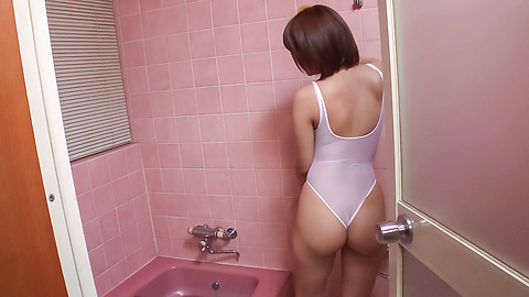 Saya Tachibana - Appealing wife provides Japan blow job in the bath tub  - Picture 3